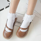 Sweet Cute Retro Woman Girl Lolita Ruffle Cotton Lace Princess Socks Meias Sox