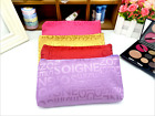 Monochrome Letter Cosmetic Bag Storage Bag 18 * 11cm Handbag Coin Purse