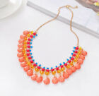 Fashion Crystal Pendant Bib Choker Chain Statement Necklace Earrings Jewelry Set <br/> 5000+ Sales,Various Styles,EXTRA 10% OFF $15+