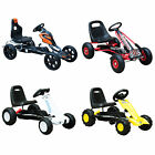 'Kids Pedal Go Cart Children Outdoor Ride-on Car Racing Toy Wheels 4 Choices