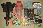 ~~1980s G I Joe Cobra Vehicle bits/parts LOT GI JOE --Jet Boat & MORE~~