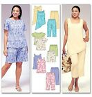 M4097 McCall's OOP Sewing Pattern EASY Endless Options Tunic Capri Plus 26W-32W