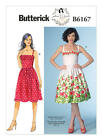 Butterick 6167 Paper Sewing Pattern Gertie Vintage Retro Style Dress 4-20