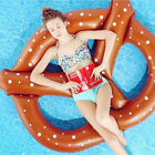 "6 Design Giant 59""- 98"" Inflatable Swimming Pool Ride-on Float Beach Lounge Raft"