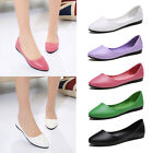 Womens Ballerina Ballet Dolly Pumps Ladies Flats Loafers Slip On Shoes Sizes
