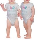 TWINS T-SHIRTS OR BODYSUIT SET ARRIVAL GIFT