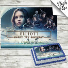 STAR WARS ROGUE ONE RECTANGLE EDIBLE CAKE TOPPER DECORATION PERSONALISED