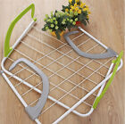 OVER RADIATOR CLOTHES AIRER INDOOR LAUNDRY HANGER 5 BAR TOWEL HOLDER RAIL DRYER