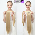 """80g Soft Straight 8A High Clip in Ponytail -100% Human Hair Extensions 15~22"""""""