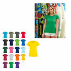 10er Pack Fruit of the Loom Original Damen T-Shirt  Lady-Fit XS - XXL  61420