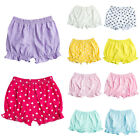Infant Baby Girl Boy Cotton Bloomers Casual Diaper Nappy Cover Pants Shorts 0-2T