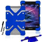 "Shockproof Silicone Stand Cover Case For Various 7"" 8"" Medion LifeTab +Stylus"