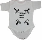 ARM LEG Funny 100% Cotton Nontoxic ink Babies Body Suit Grow Gift