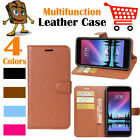 Leather Wallet Stand Folio LSP Case Cover For LG K20 Plus  MP260 TP260  LG K20 V