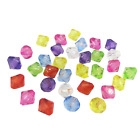6MM 8MM 10MM MULTI COLOURED ACRYLIC  FACETED BICONE BEADS FOR JEWELLERY MAKING