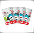 SanDisk 64GB 32GB 16GB 8GB microSD Class 10 U1 80MB/s XC HC Flash Memory SD Card