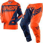 NEW 2018 ANSWER RACING SYNCRON ORANGE GRAY ADULT RACE GEAR COMBO JERSEY PANTS MX