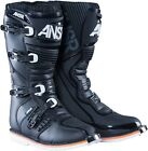 NEW ANSWER AR-1 BLACK RACE RACING MENS ADULT MOTOCROSS MX ATV BOOTS RIDING