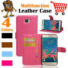 Leather Wallet Stand Folio LSP Case Cover Skin For Samsung Galaxy J5 Prime / On5