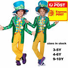 MAD HATTER BOYS DELUXE COSTUME CHILDREN BOOK WEEK SPECIAL