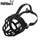 "Basket Dog Muzzle Flexible Plastic Cage Adjustable Nylon 6 Mouth Sizes 8""-15.5"""