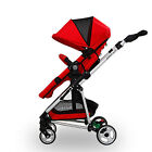 Luxry Premium 2 in 1 Stroller Cradle Shape Baby Stroller Foot Muff Fast Delivery