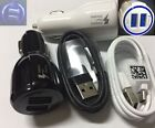 OEM BLACK / WHITE Type-C Cable Fast LED Car Charger For Samsung Galaxy S8 S8Plus