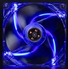 Silent 140mm PC Computer Case Fan CPU Cooling Quad 4-LED 11-Blade 14cm 3Pin