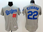 Clayton Kershaw Los Angeles Dodgers White- Blue- Gray MLB Flex Base Jersey (NWT)
