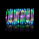 10M Waterproof 100 RGB LED Solar/Battery Powered Rope Strip Light String Lamp