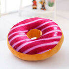 Donut Fruit Cushion Throw Pillow Waist Stuffed Plush Home Office Seat Pad Gifts