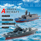 Remote Control Challenger Aircraft Carrier RC Boat Warship Battleship Kids Toys