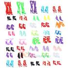 Fashion Party Daily Wear Dress Outfits Clothes Shoes Hanger For Barbie Doll Gift