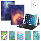 For iPad 9.7 2017 iPad Pro / Mini Case Stand Cover + Wireless Bluetooth Keyboard