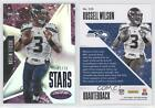 2015 Panini Certified Stars Mirror Purple #S20 Russell Wilson Seattle Seahawks