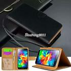 Black Flip Cover Stand Wallet Leather Case For Samsung Galaxy S1/2/3/4/5/6/7/8
