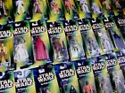 STAR WARS GREEN POTF2 'HOLOGRAM' CARDED FIGURES - ALL MOC - SEE PHOTOS! £5.99 GBP