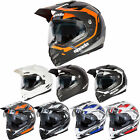 Spada Motorcycle Bike Intrepid Protective Full Face Riding Helmet Size XS-XL