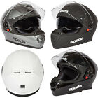 New Spada Motorcycle Bike RP-One Protective Full Face Helmet Size XS-XL