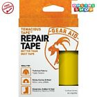 Gear Aid Tenacious Tape for Fabric Repair Yellow Tape Fixes Rips Holes Imported