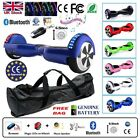 "6.5"" 2 WHEELS SELF BALANCING SCOOTER BALANCE BOARD BLUETOOTH +LED+REMOTE UK >"