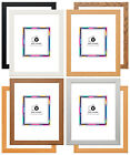 PHOTO FRAMES POSTER FRAME A1 A2 A3 A4 A5 WOOD EFFECT VARIOUS SIZES & COLOURS