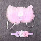 Hot Lace Headband and Angel Feather Wings Baby Photo Props Fashion Decoration
