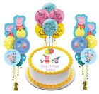 Peppa the Fairy Pig Happy Birthday Edible Cake Image Topper Decoration Party