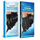 2 Pairs NEW PowerBilt Rain and Winter Golf Gloves - Pick the Size and Gender!!