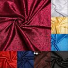 """1 meter by the yard Soft Dragon brocade tapestry satin Fabric 47"""" in 10 colors"""