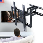 """Deluxe Cantilever TV Wall Mount Adjustable Extension Arms Swivel Bracket 32""""-70"""""""