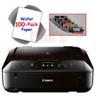 Edible Printer Bundle with Ink and Topper Sheets - Black Canon MG6820 Wireless