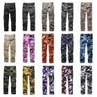 Mens Combat Military Army BDU Cargo Pants Work Camping Fishing Camouflage Pants