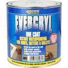 Everbuild Evercryl One Coat 2.5KG ROOF RESIN BASED REPAIR COMPOUND PAINT